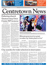 Cover of Centretown News
